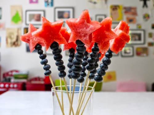 watermelon and blueberry wands