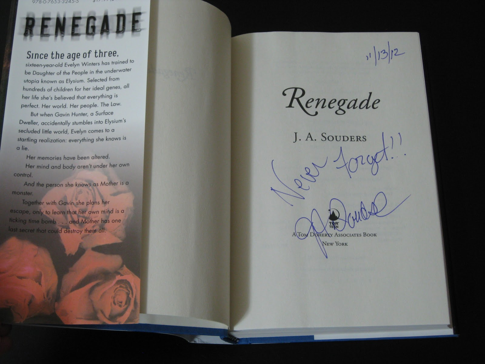 1600 x 1200 · 187 kB · jpeg, receive a signed copy of Renegade