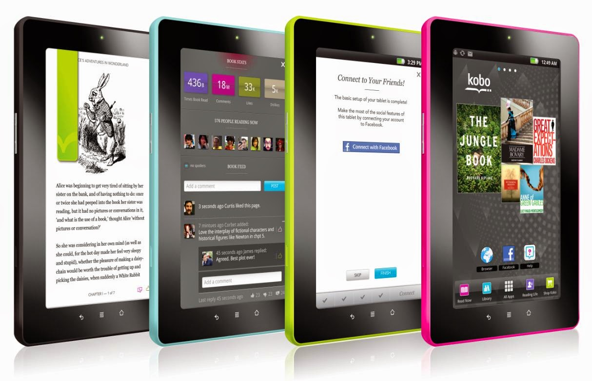 Kindle Fire and nook color