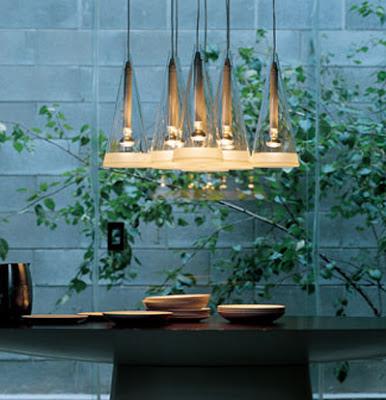 Flos Fucsia eight diffusers pendant, designer range