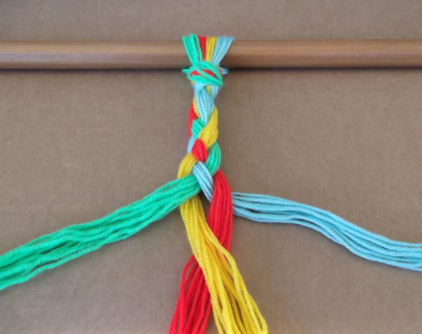braiding tutorial, braid how to, braiding tutorial, braiding how to, 4 strands braid, 4 color braid