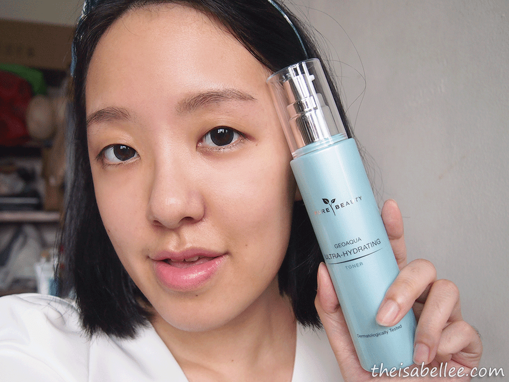 Reviewing Pure Beauty GeoAqua Ultra-Hydrating Toner