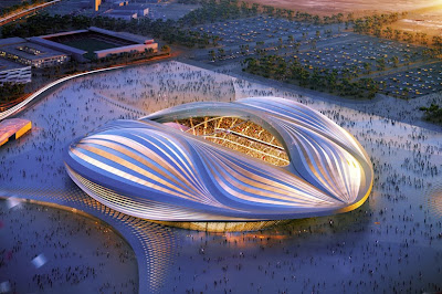 World Cup, Qatar, Architecture, Stadium, UAE, Sports, FIFA, Designer, Design, Architec,t Zaha Hadid, 2014,2022 World Cup