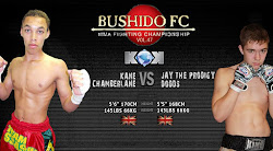 <b>BUSHIDO FC Championships November 5th - The Troxy London</b>.
