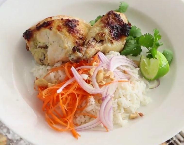 Kylling i lime og kokos