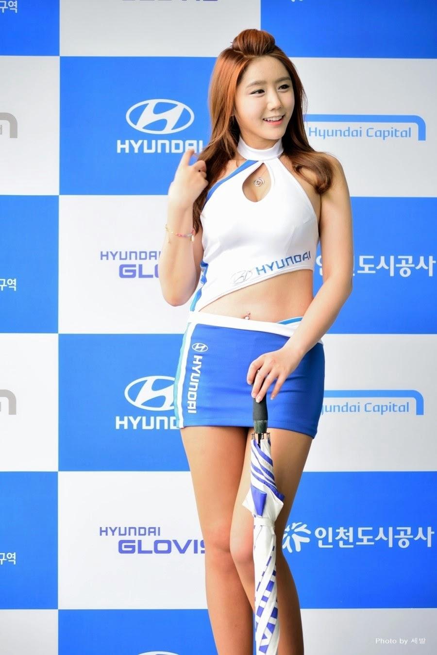 3 Kim Ha Eum - Korea Speed Festival 2014 - very cute asian girl-girlcute4u.blogspot.com