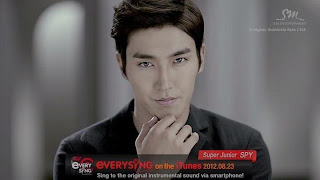Siwon Super Junior SPY