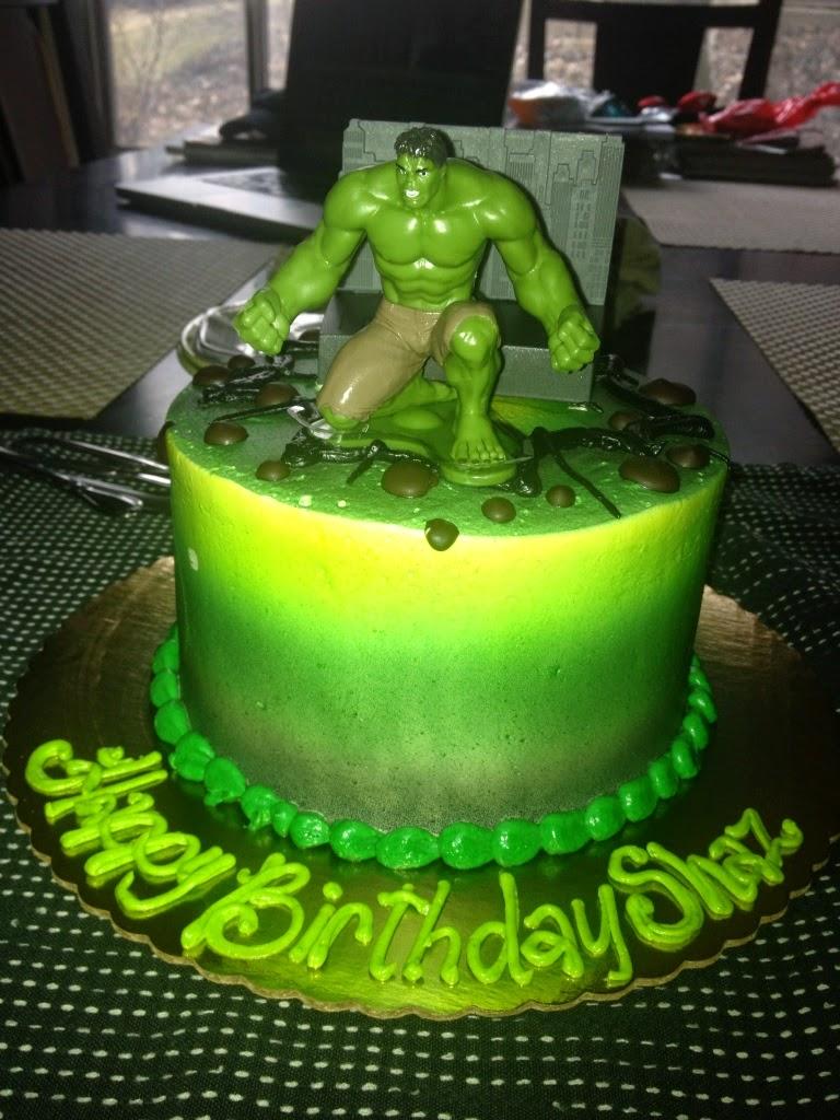 Tortas de Hulk, parte 3