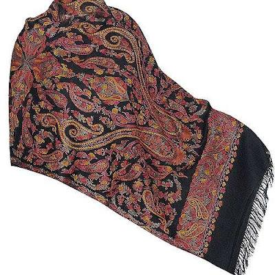 Floral Designs Shawls