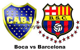 Boca Juniors vs Barcelona Copa Libertadores 2013