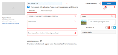 Cara Mudah Upload Video Youtube Terbaru Malalui PC