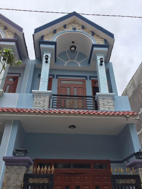 Bán căn nhà 1 lầu 1 trệt ngay tại khu phố Tân Long dĩ an Bình Dương.