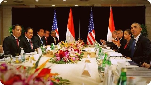 Pertemuan Jokowi - Obama Tidak Membahas Freeport