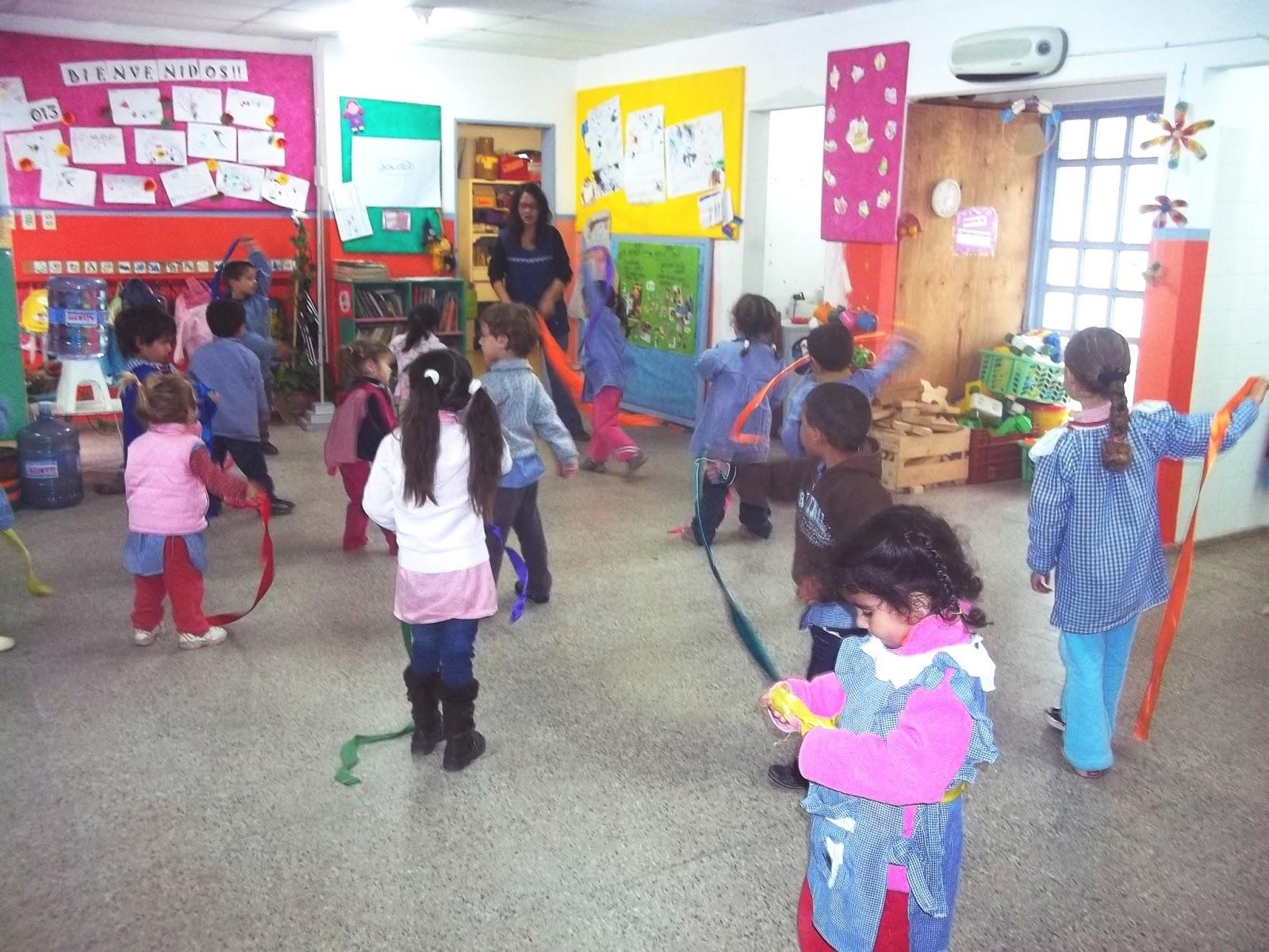 Nuestro jardin en casa grande expresion corporal for Amapola jardin de infantes
