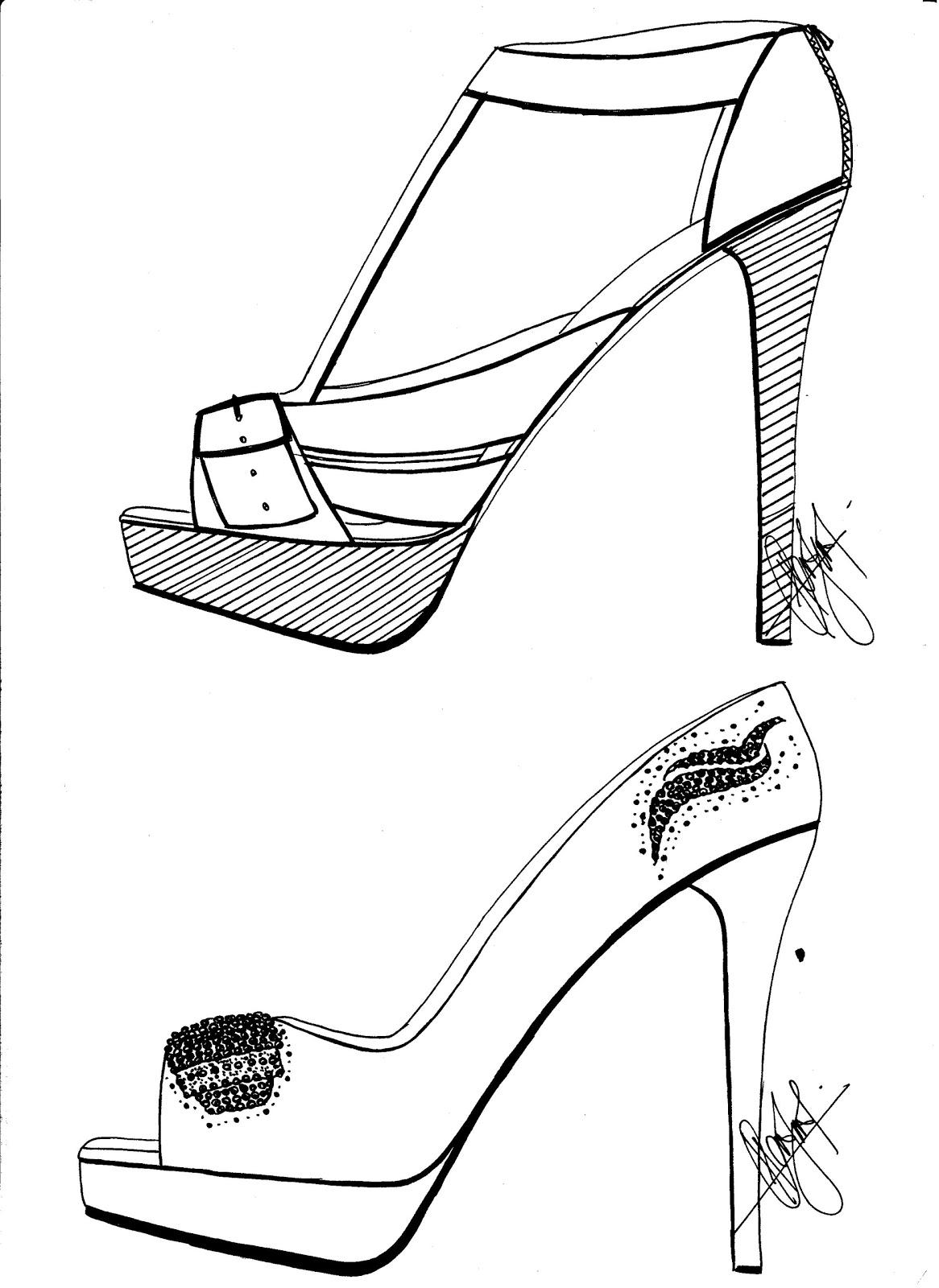 High Heels Sketches