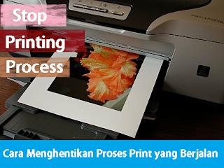 Cara Menghentikan Printer yang Sedang Proses Mencetak
