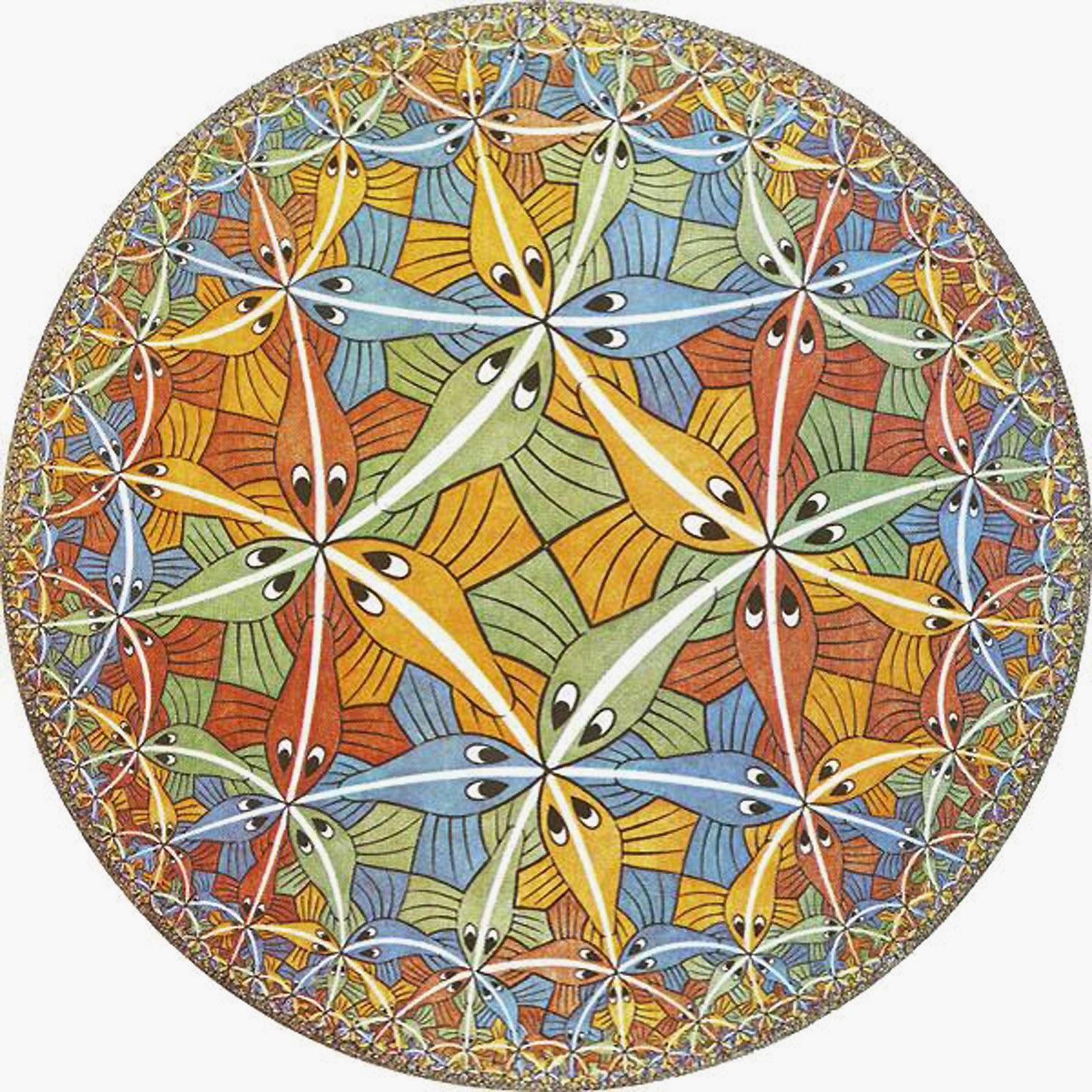 Circle Limit III, M. C. Escher