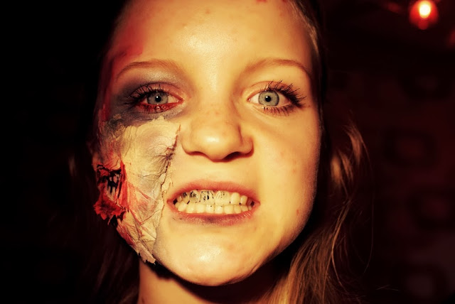 What do you know about being zombie, huh? - Zombie Make Up Look