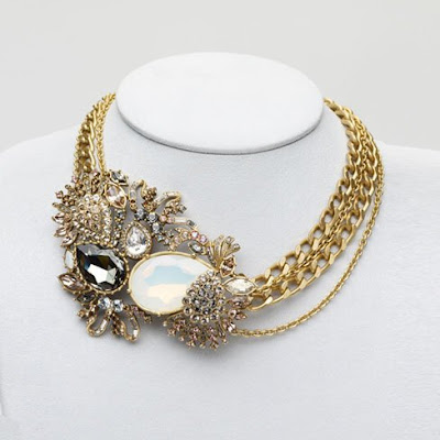 Baroque Fashion Jewel - Judith Leiber Lulu Necklace