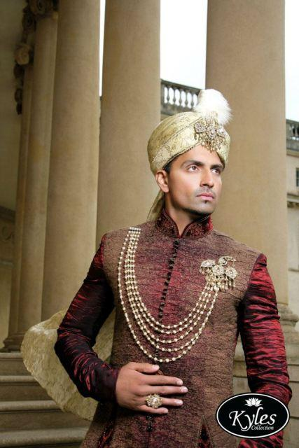 Wedding Gift For Groom In Pakistan : Pakistani Bridal & Groom Wear Dresses Collection 2013 Wedding ...