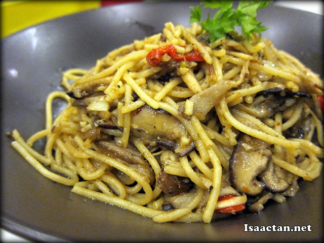 Chilli Mushroom Pasta - RM7.90