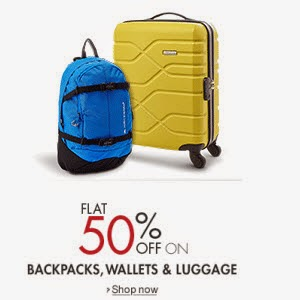 Amazon: Buy Bags, Wallet & Luggage Minimum 50% off from Rs. 99