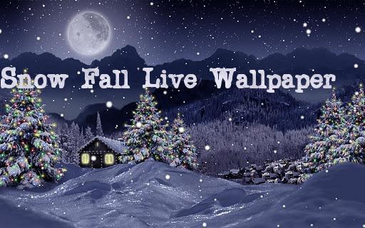 snow fall live wallpaper android club4u