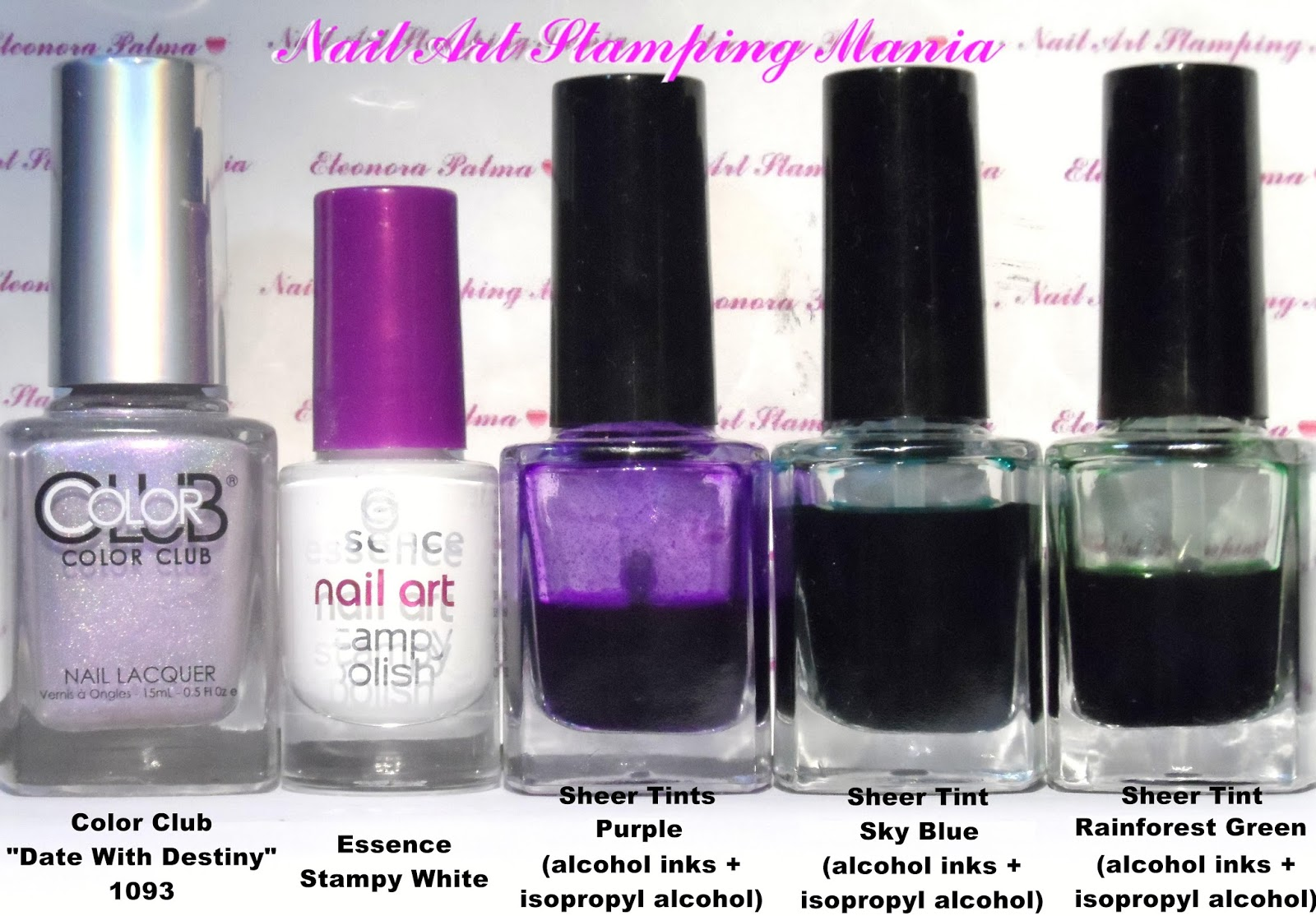 Nail Art Stamping Mania: How to Make your Own Sheer Polishes With ...