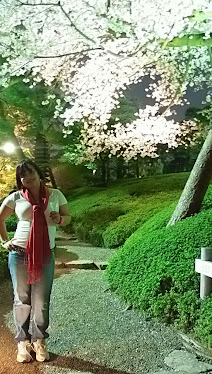 Dayana en Tokio