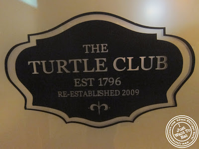 Image of the Sign of the Turtle Club in Hoboken, NJ