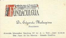 PRESIDENTE DE FUNDACULGUA