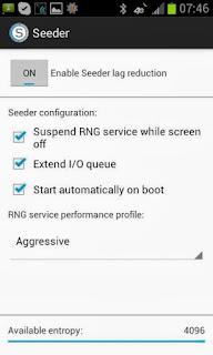 Cara Menghilangkan Lag Pada Android dengan Seeder