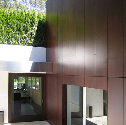 Fachadas de madera de casas modernas fotos construye hogar - Imitacion madera para fachadas ...