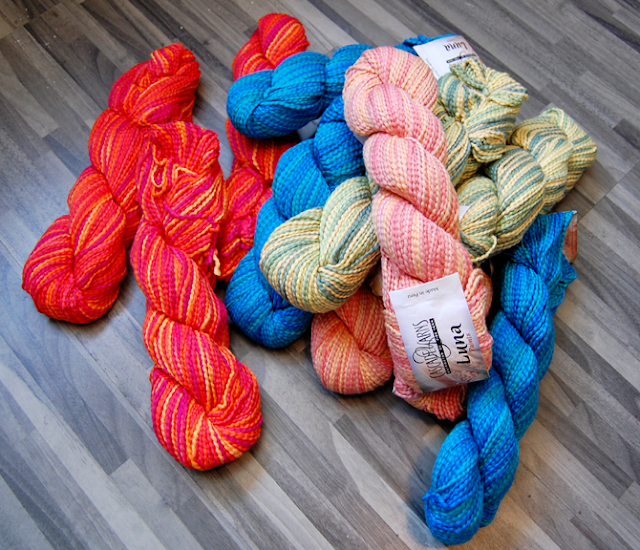 Jennifer Knits Los Angeles: New Colors: Cascade Luna Cotton Hand Knitting Yarn