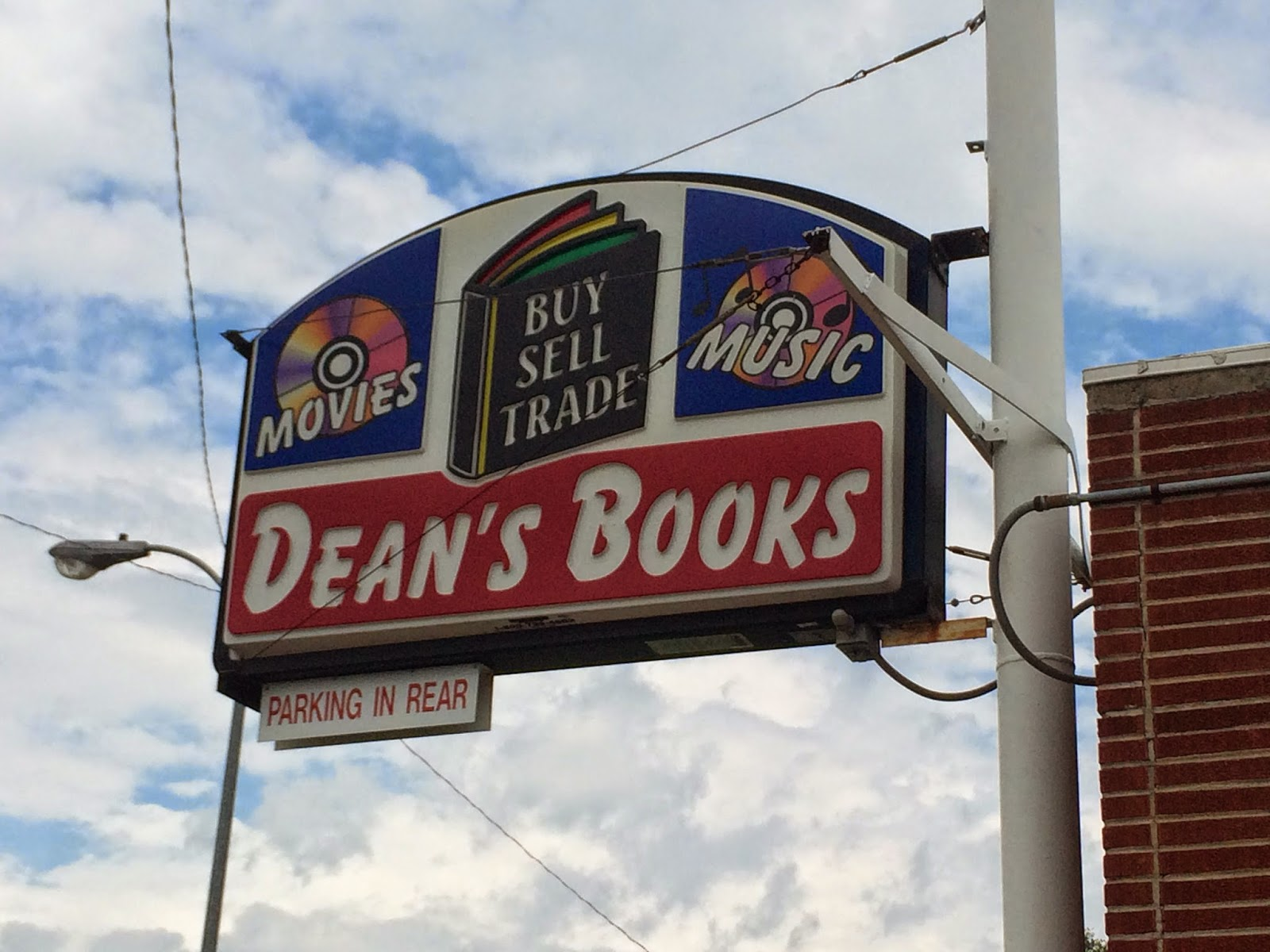 The In Bob Spot Dean S Half Price Books Topeka KS
