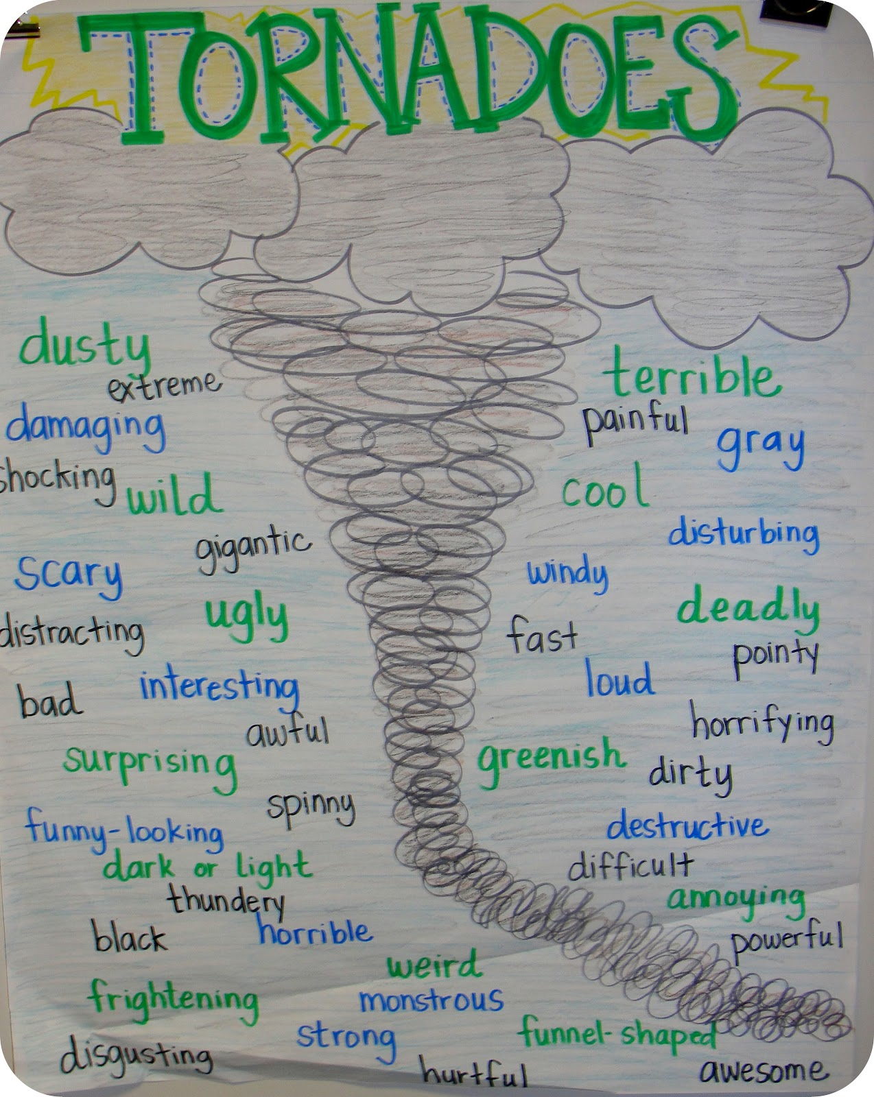 2nd Grade Tornado Projects