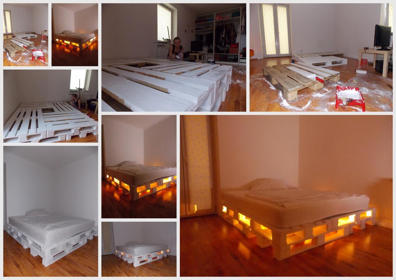 essa Diy super legal que explica como montar uma linda cama de casal #BC400F 1600x1131
