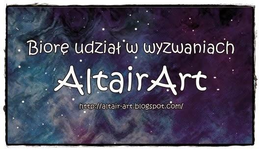 Biorę udział w wyzwaniach Altair Art