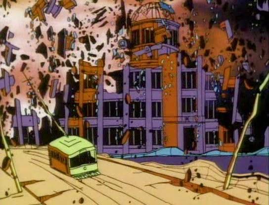 barefoot gen scene bomb Hiroshima Genbaku Dome Hiroko Kajiyama Hadashi no Gen Keiji Nakazawa はだしのゲン Mori Masaki