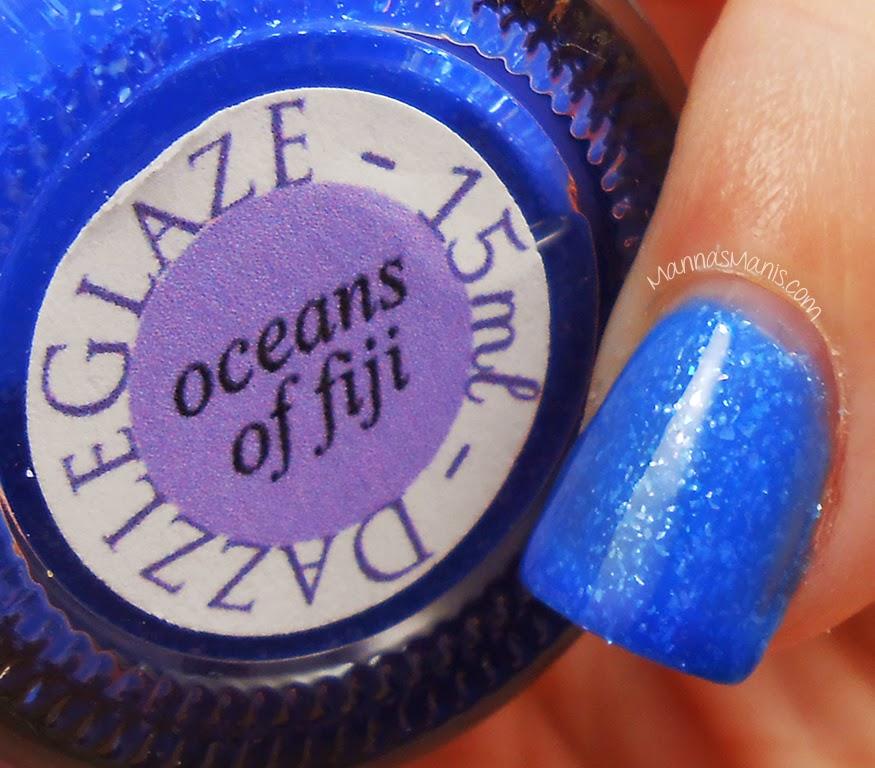 indie nail polish dazzle glaze oceans of fiji