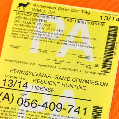 Full o 39 bull gazette pennsylvania hunting licenses to go for Hunting fishing license