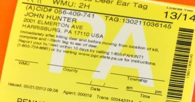 Full o 39 bull gazette pennsylvania hunting licenses to go for Pa fishing license online
