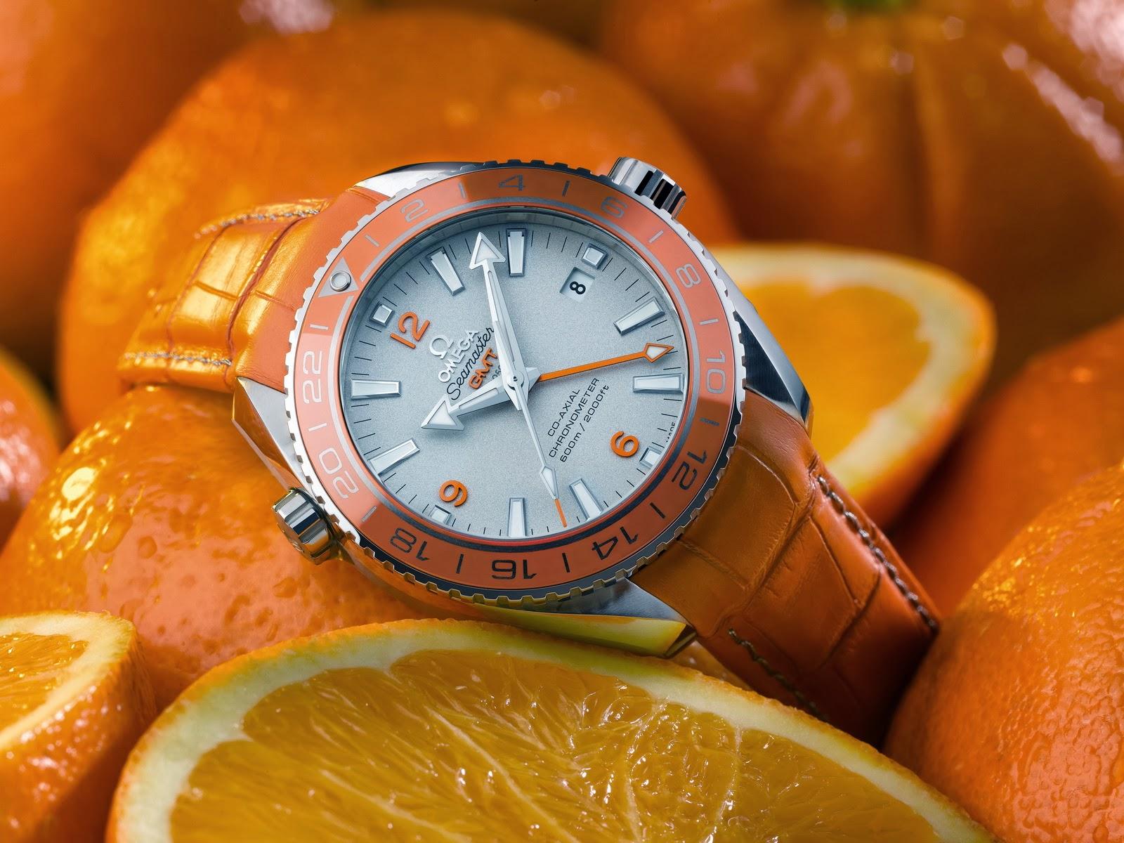 Oceanictime omega seamaster planet ocean orange ceramic for Plante orange