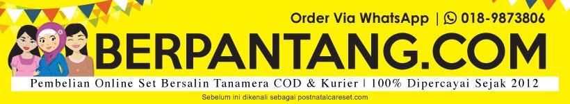 TANAMERA | Set Berpantang | Post Natal | Beli Online Kurier Dan COD - Terbaik Malaysia