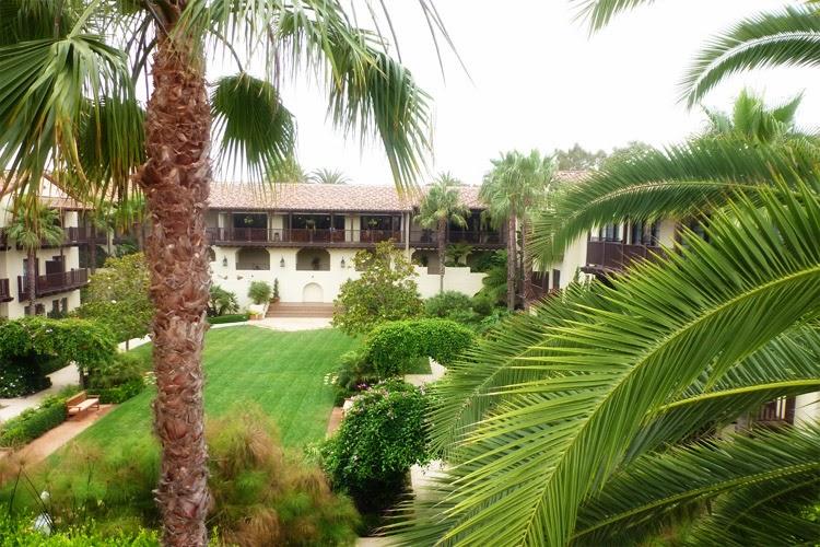 Palm trees La Estancia La Jolla Hotel