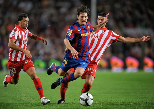 Lionel Messi's Amazing Run against Atletico Madrid