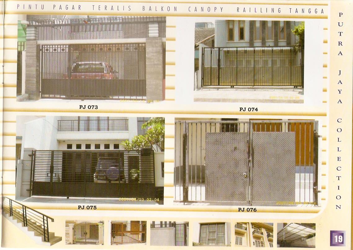 Gambar Gerbang Rumah Minimalis. pintu gerbang minimalis