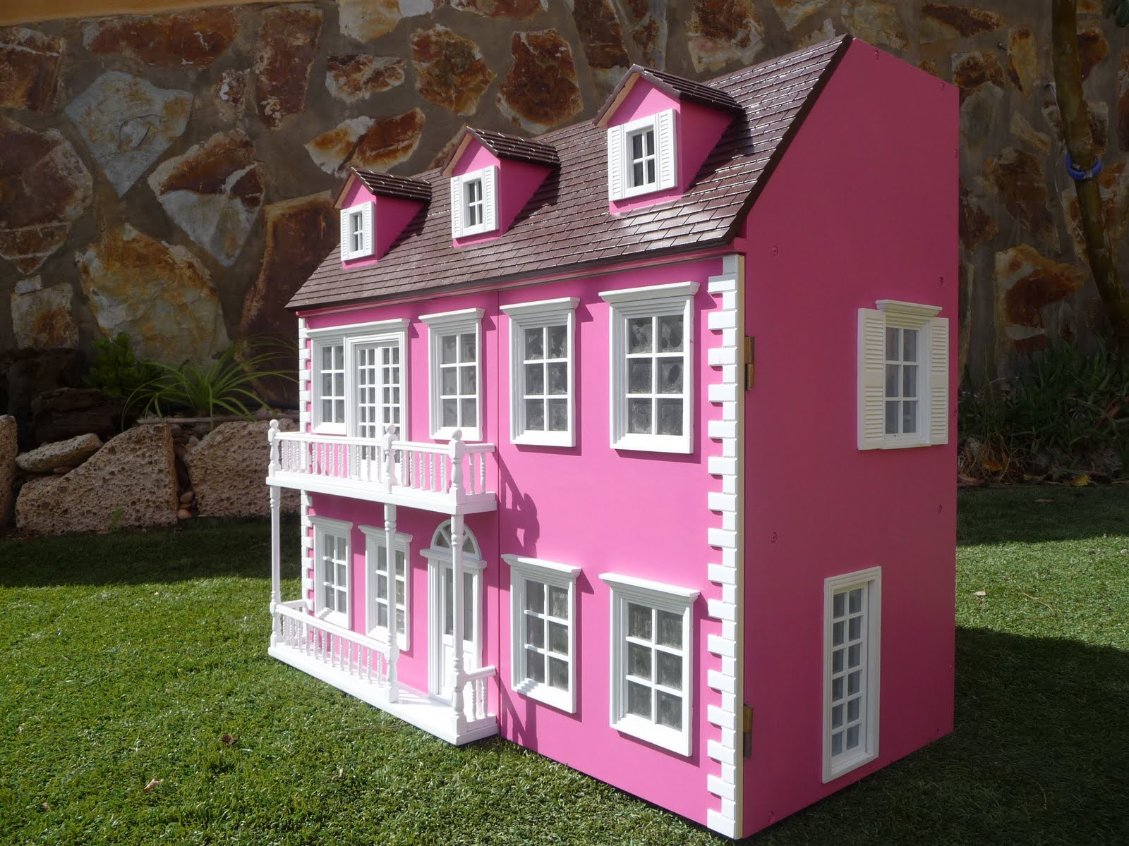 Pin casas de muecas barbie portal com pelautscom on pinterest - Casa de barbie ...