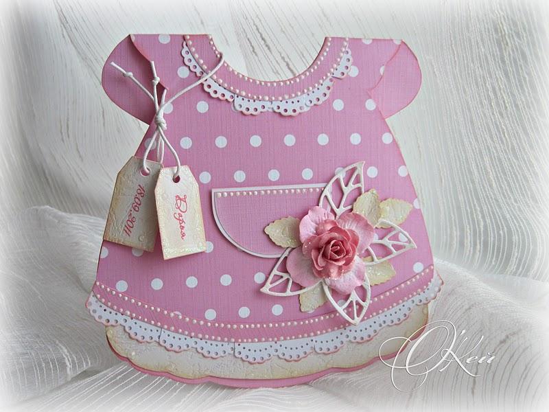 Открытка на рождения дочки своими руками