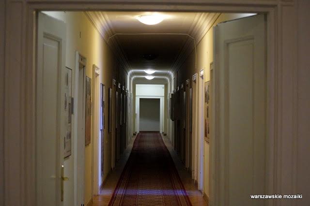 Warszawa Krakowskie Przedmieście Polska Akademia Nauk pałac Śródmieście korytarz